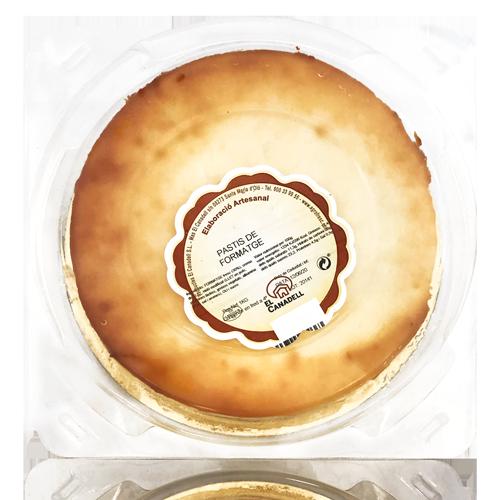 Pastís de Formatge (1 kg) El Canadell