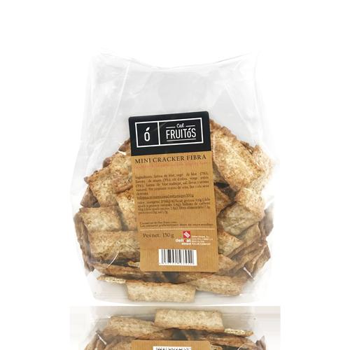 Mini Cracker amb Fibra (150 g) Cal Fruitós