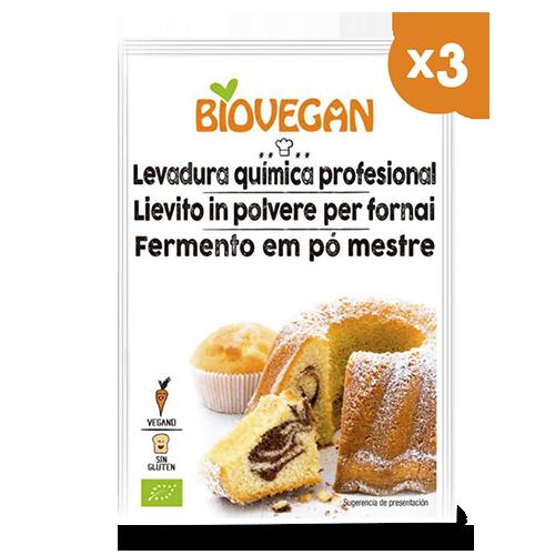 Llevat per Rebosteria Bio (3x17 g) Biovegan