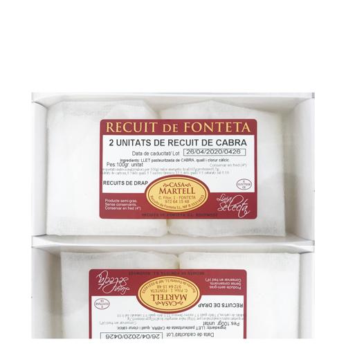 Recuit de Fonteta (2x100 g) Casa Martell