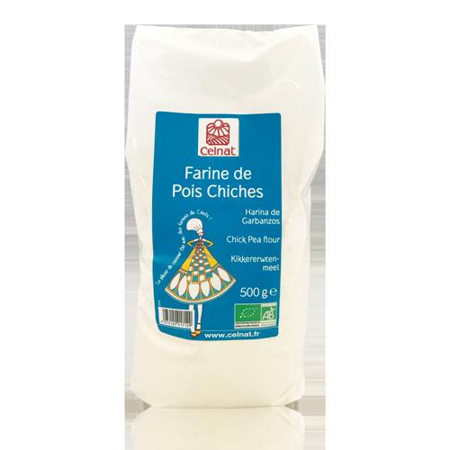 Harina de Garbanzos Bio (500 g) Celnat