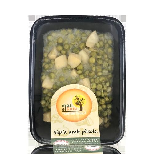 Sípia amb Pèsols (250 g) Mas el Guiu