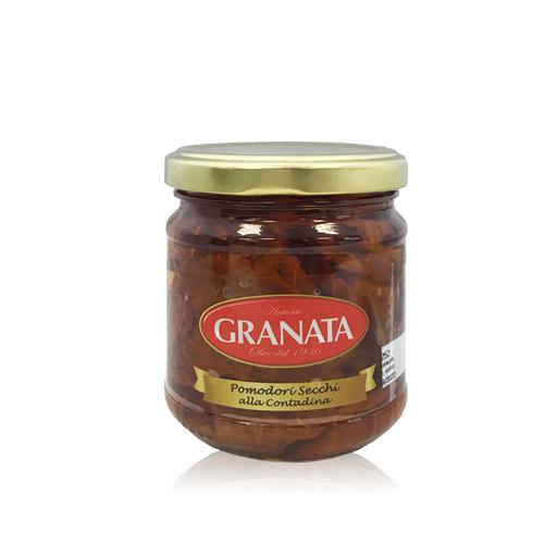 Tomate Seco con Aceite (185 g) Granata