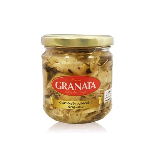 Carxofa a la Brasa amb Oli (185 g) Granata