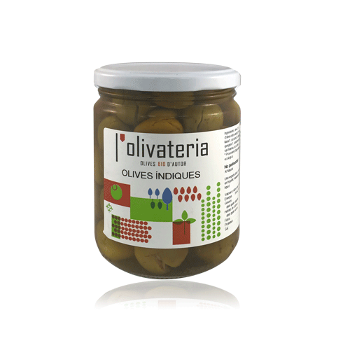 Olives Índiques Bio (435 g) L'Olivateria