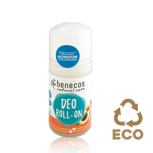 Desodorant Roll On Albercoc (50 ml) Benecos