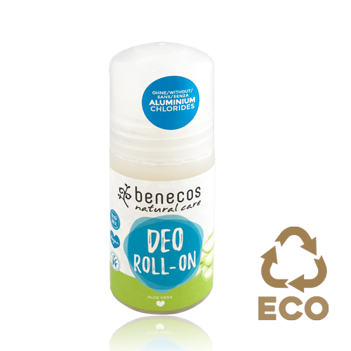 Desodorant Roll On Aloe Vera (50 ml) Benecos
