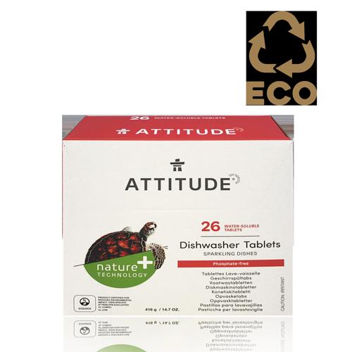 Rentavaixelles Tabletes (26 u) Attitude