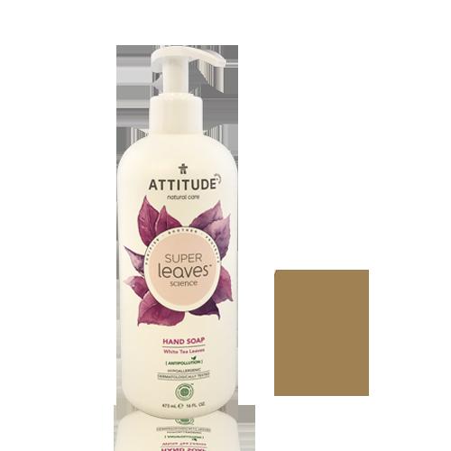 Jabón de Manos Hoja Té Blanco (473 ml) Attitude