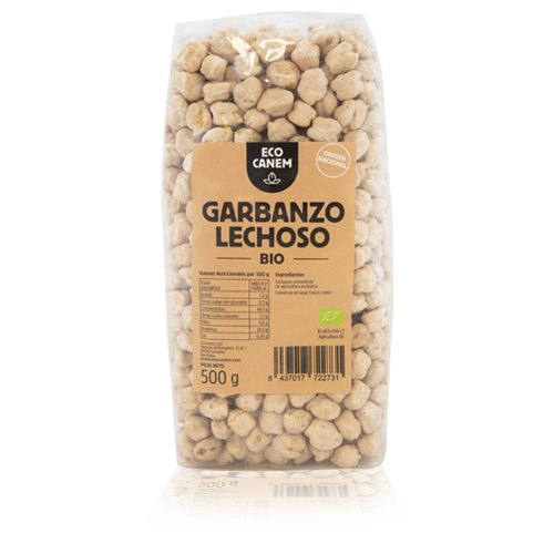 Cigrons Extra Bio (500 g) EcoCanem