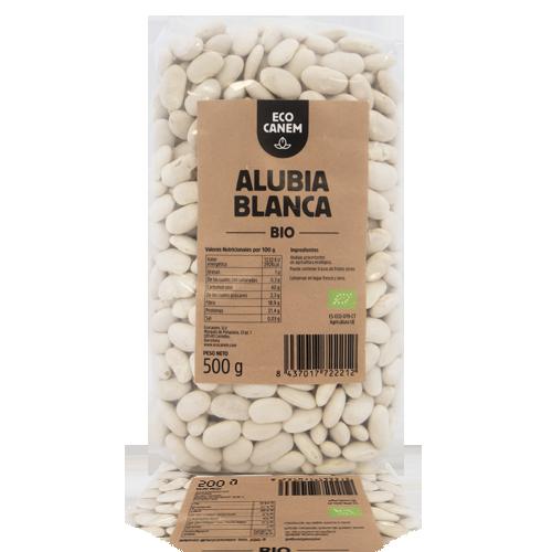 Alubias Blancas Bio (500 g) EcoCanem