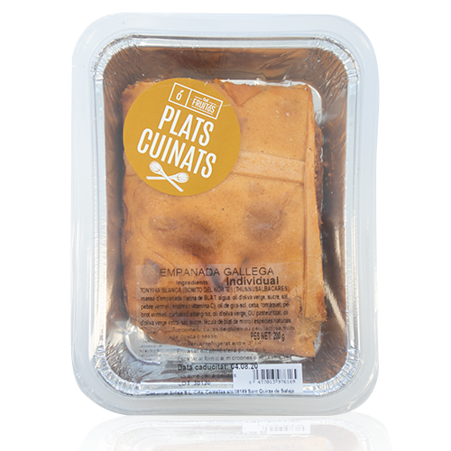 Empanada Gallega de Tonyina Porció (200 g) Cal Fruitós