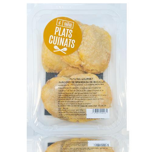 Patates Gourmet farcides de Brandada de Bacallà Cal Fruitós