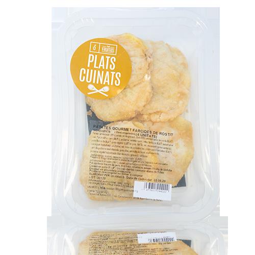 Patates Gourmet farcides de Rostit Cal Fruitós