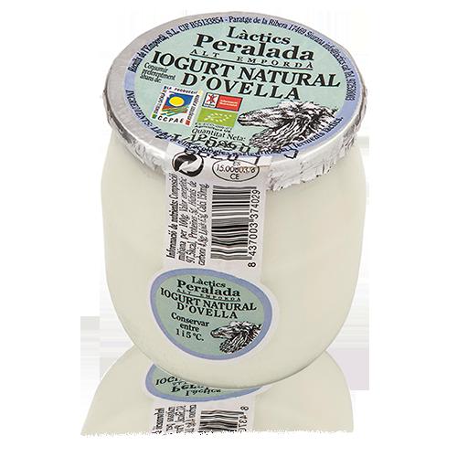 Iogurt  d'Ovella Natural Bio (125 g) Peralada