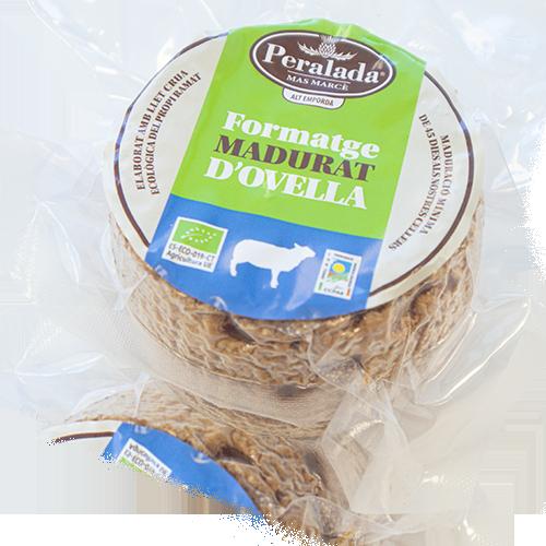 Formatge d'Ovella Madurat Bio (300 g) Peralada