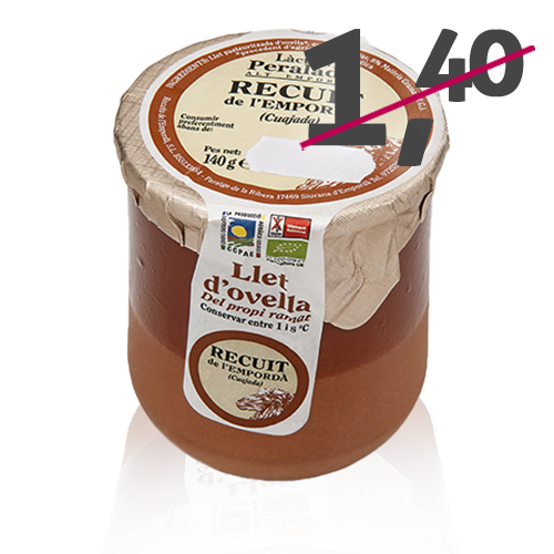 Cuajada de Oveja Bio (140 g) Peralada
