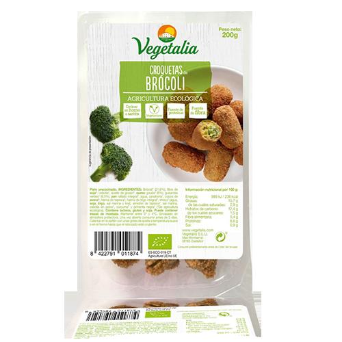 Croquetes de Bròcoli Bio (180 g) Vegetalia