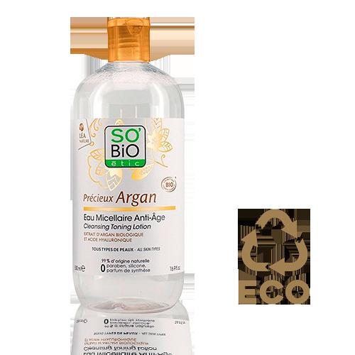 Agua Micelar Argan (500 ml) Léa Nature