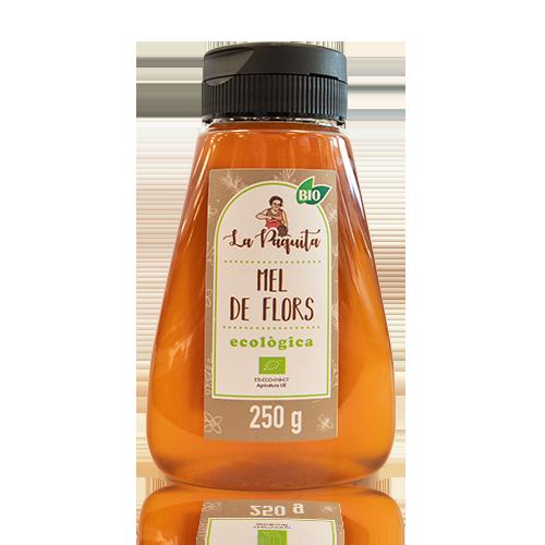 Miel Flores con Dosificador Bio (250 g) La Paquita