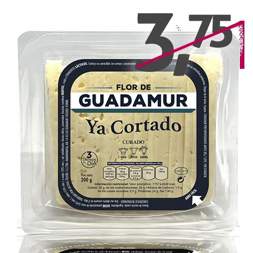 Formatge Mescla Tallat Curat (200 g) Flor de Guadamur
