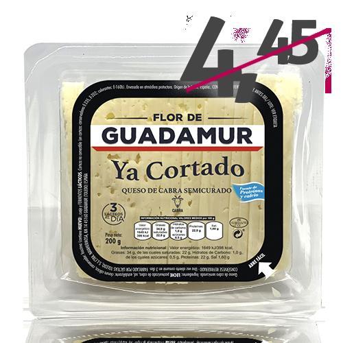 Formatge de Cabra Tallat Semi (200 g) Flor de Guadamur