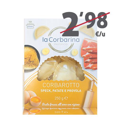 Corbarotto Speck, Patata i Provola (250 g) La Corbarina