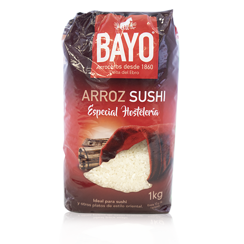 Arròs per Sushi (1 kg) Bayo