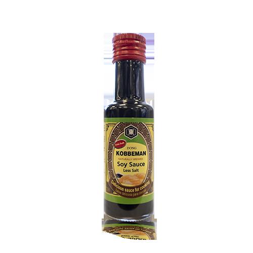 Salsa de Soja amb menys sal (125 ml) Kobbeman