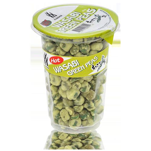 Wasabi Green Peas (100 g) Mishima