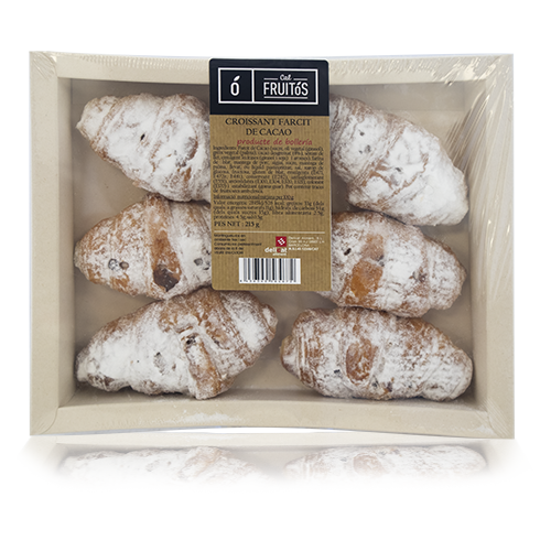 Croissant Farcit Xocolata (140 g) Cal Fruitós