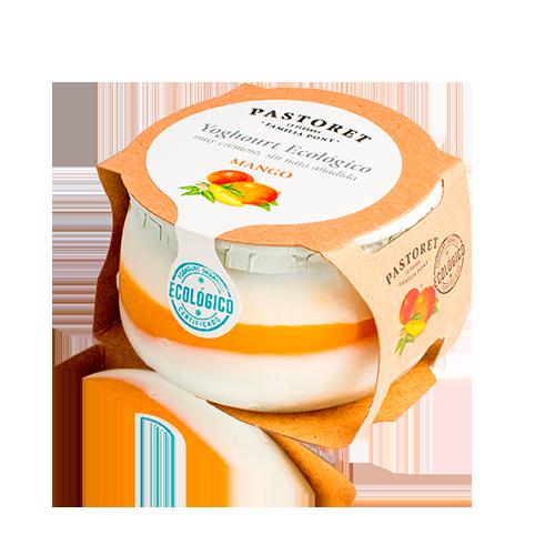 Iogurt Mango Bio (135 g) Pastoret