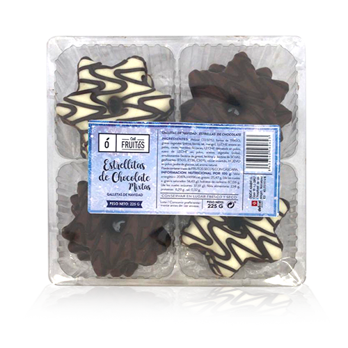 Galetes d' Estrelles de Xocolata (225 g) Cal Fruitós