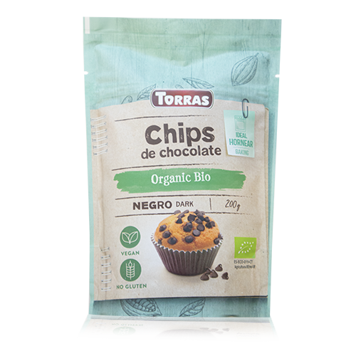 Chocolate Negro Chips Bio (200 g) Torras