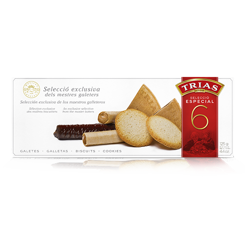 Assortiment Especial 6 (125 g) Trias