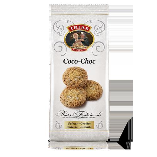Galetes Coco Xoc Bossa (150 g) Trias