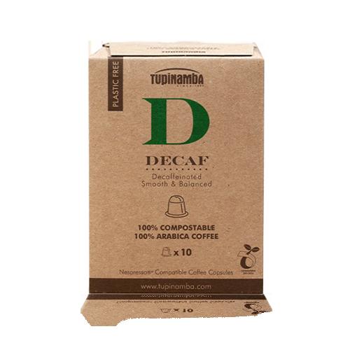 Café Decaf Cápsula Compostable (10 u) Tupinamba