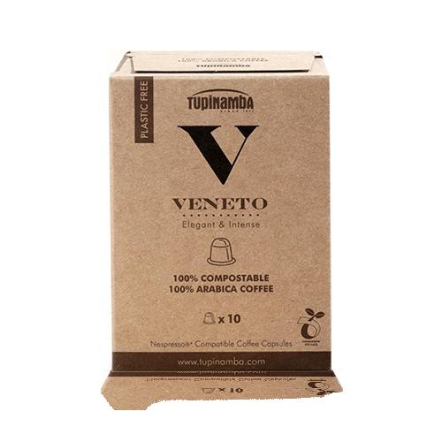 Cafè Veneto Càpsula Compostable (10 u) Tupinamba