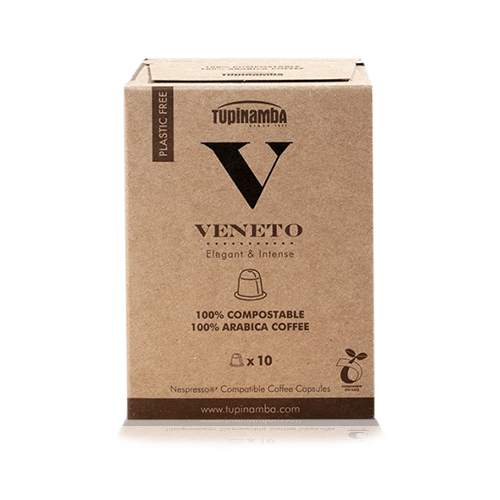 Café Veneto Cápsula Compostable (10 u) Tupinamba