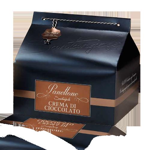Panettone Premium Crema di Cioccolato (900 g) Santangelo