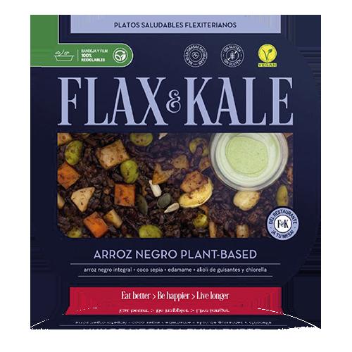 Arròs Negre Vegà (275 g) Flax and Kale