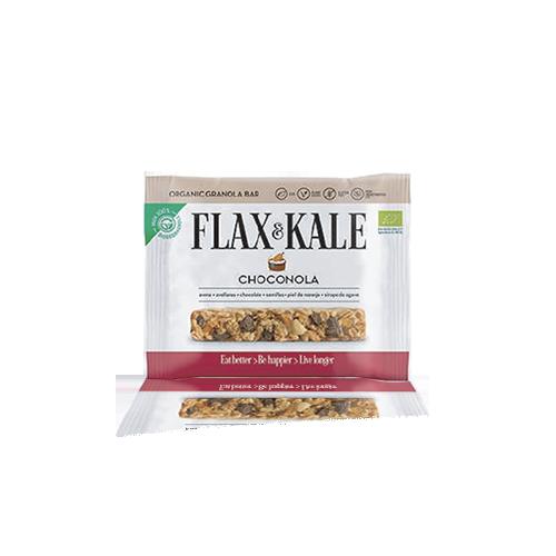 Granola Bar Choconola Bio (60 g) Flax & Kale