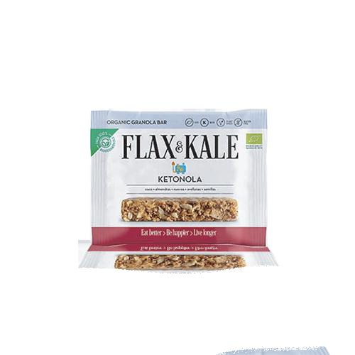 Granola Bar Ketonola Bio (60 g) Flax & Kale