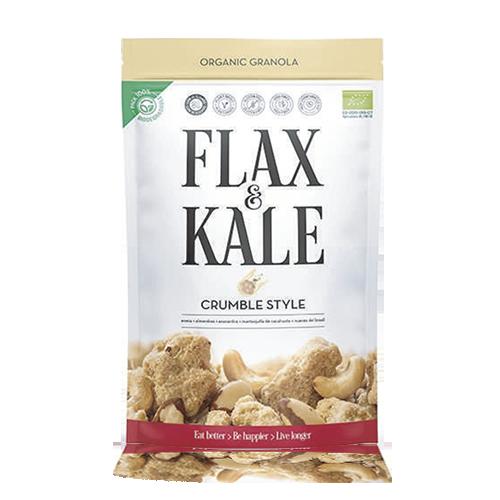 Granola Crumble (Bio 300 g) Flax & Kale