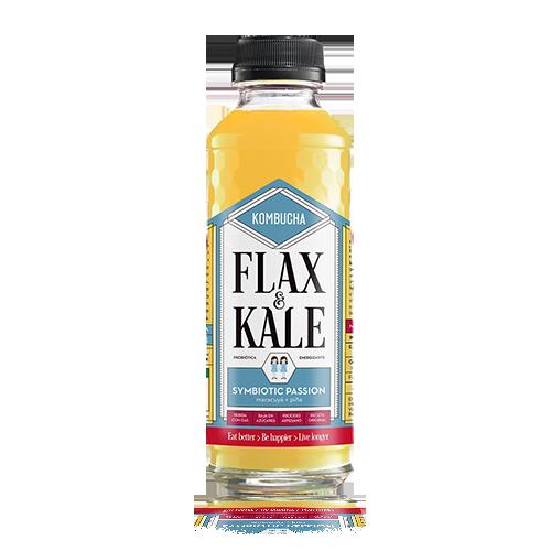 Kombutxa Symbiotic Passion (400 ml) Flax & Kale