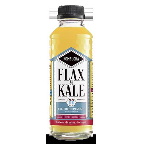 Kombucha Symbiotic Passion (400 ml) Flax & Kale