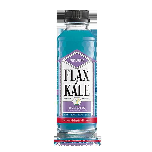 Kombutxa Blue Mojito (400 ml) Flax & Kale