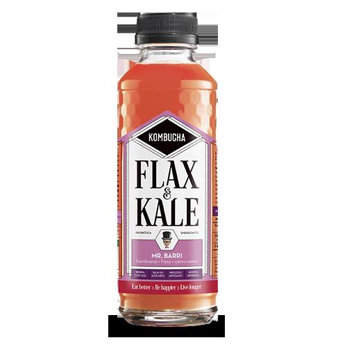 Kombucha Mr. Barri (400 ml) Flax & Kale