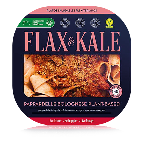 Pappardelle Bolonyesa Vegà (275 g) Flax & Kale