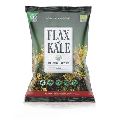 Xips Kale Original Bio (80 g) Flax & Kale